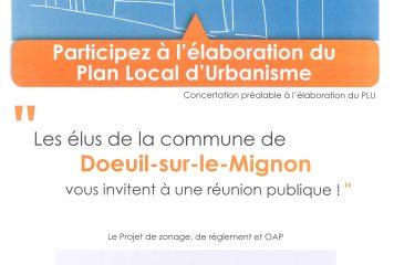 Réunion Publique Mercredi 25 Avril 2018